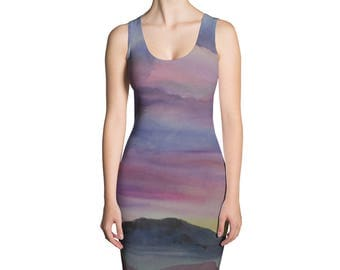 Desert Landscape Sublimation Cut & Sew Dress