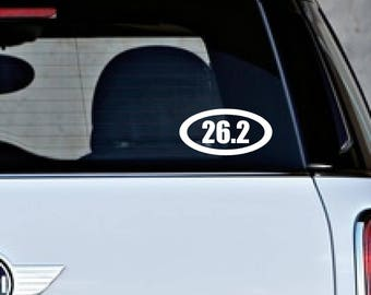 26.2  (thick) Car Decals