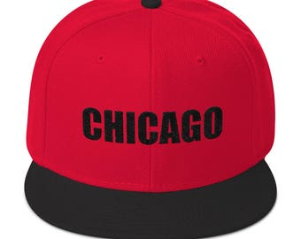 Chicago Snapback Hat