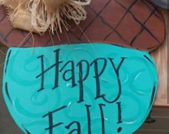 Fall Acorn Sign