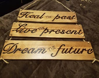 Decorative inspirational wall decor