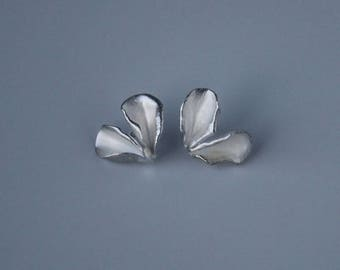 Double Petal Earrings (small)