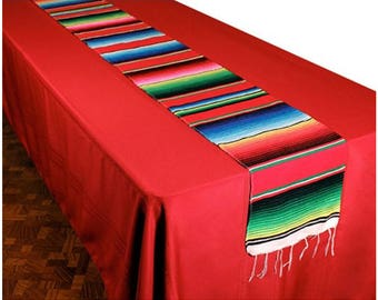 Serape Table Runner - Mexican Table Runner for Weddings & Parties