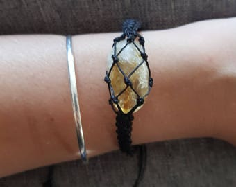 Hand made macrame bracelet