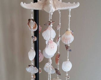Seashell & Pearl Wind Chime