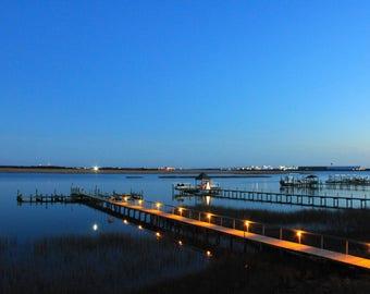 Dock/ Photo/ Sunset/ North Carolina/ Outer Banks/ Digital Photography