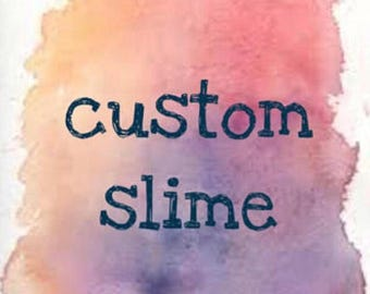 customised slime (4oz -114ml)