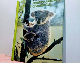Koalas and Kangaroos Strange Animals of Australia. Hardcover, 1981.