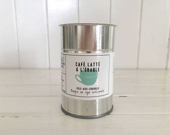 Handcrafted Soy Candle / Maple coffee