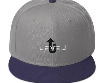 LevelUp Snapback Hat