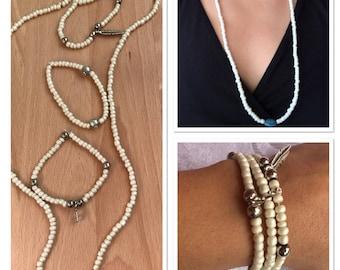 Necklace with Bracelets