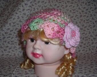 Baby girl's crochet hat