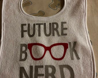 Book Nerd Bib