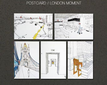 Postcard / London Moment 5 Series