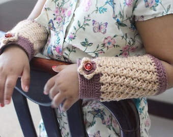 Hand warmer for baby- Crochet Pattern