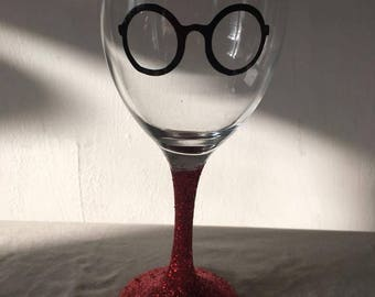 harry potter wine glass