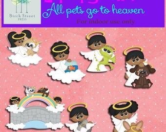 All pets go to heaven scrap booking sheets