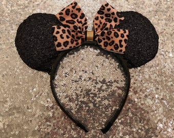 Leopard Mickey Ears - Limited Production