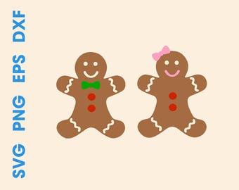 Gingerbread SVG file Gingerbread svg design Gingerbread svg cut file Gingerbread decor Gingerbread dxf