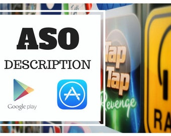 We Will Write Aso Friendly Description For Your Mobile App Or Game