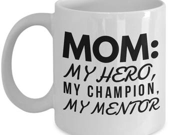TO MY MOM!  11oz White Coffee Mug! The Perfect Mum's Gift