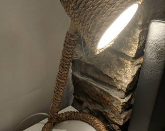 Bedside Rope Lamp Manila Rope Lamp With Switch
