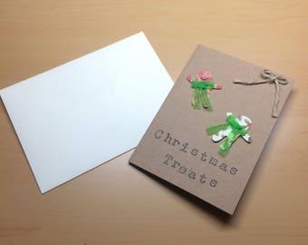 Christmas treats Christmas card