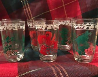 1950s Vintage Children's Drinking Glasses