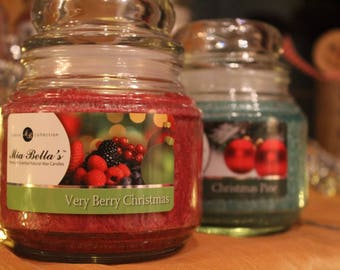 Very Berry Christmas - This luscious fragrance infused with a blend of sweet and juicy berries such as blueberry, acai berry, and mulberry