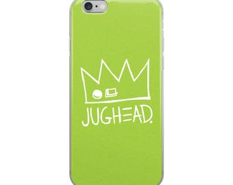 NEW! Ships VERY fast! Jughead Jones iPhone Case in Green, Cute, Riverdale, Fun, Archie Comics, Betty, Veronica, Archie, iPhone 6-X