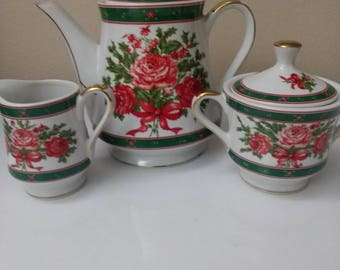 Vintage Lefton Tea Set