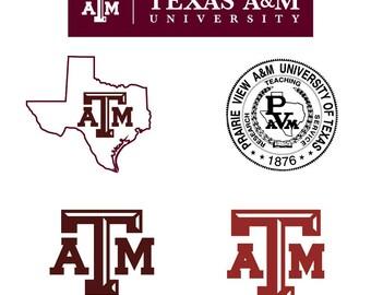 Texas A&M svg, Texas University Svg File, Texas Cricut File, Texas ATM Svg, Texas Aggies Svg, Aggies Clipart