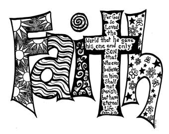 Faith in Black & White