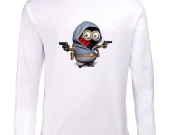 Minion Logo Long Sleeve T-Shirt