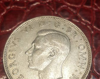 Great Britain florin two shillings 1939 George V silver