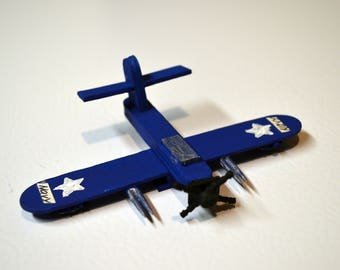 Handmade WWII US Navy Fighter Aircraft