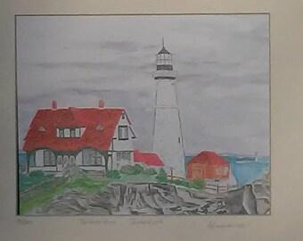 The Portland Head Lighthouse Portland, ME