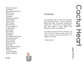 Cactus Heart Literary Magazine Issue #12.5