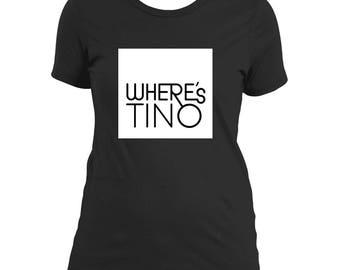 Girls Where's Tino Tee