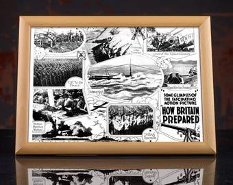 First World War, World War One British Propaganda Poster, ww1, wwi, replica, british empire, ww1 memorabilia, british army, british legion