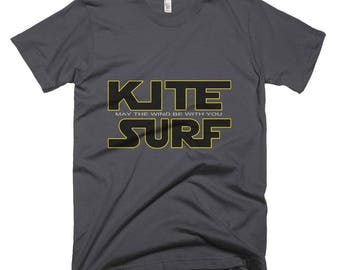 Kite Surf, May the wind be with you! American Apparel Top Quality!