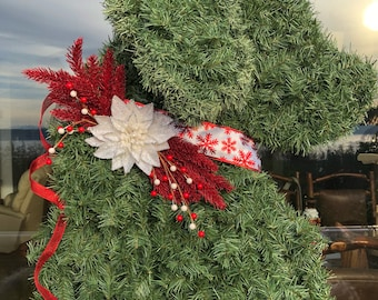 Classic Goldendoodle Wreath