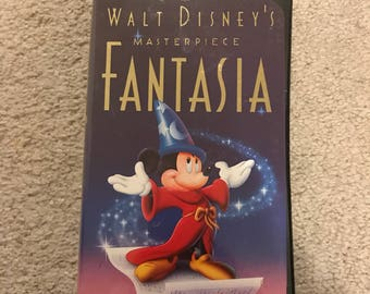 Fantasia Masterpiece Collection VHS