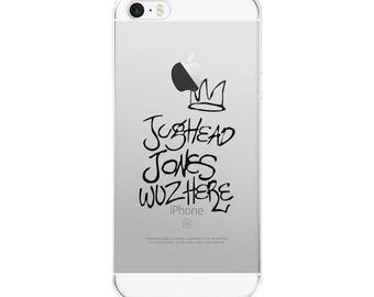 Jughead Riverdale Phone case Clear case iPhone 8 Сase Galaxy S8 Case iPhone X iPhone 7 Plus Case iPhone 6 riverdale iphone Silicone case