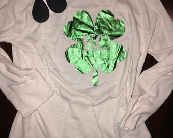 KC Shamrock St Patty's Day Shirt