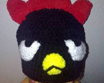 Angry Bird Hat - Toddler - 2/4