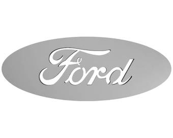 Metal, Art, Home Decor, American, Automobile, Ford