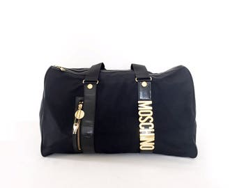 Authentic Vintage Moschino Travel Bag