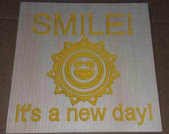 Smile it's a new day!