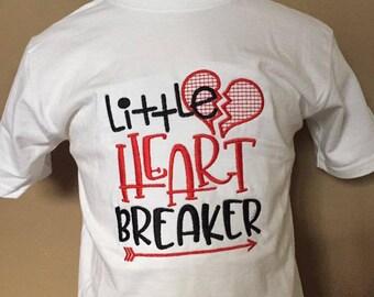 Personalized Little Heart Breaker Shirt